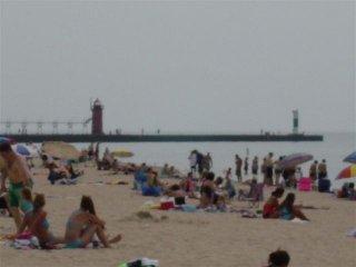 North Beach In South Haven Michigan