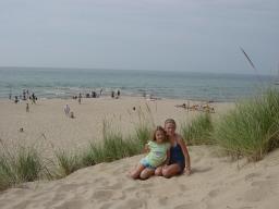 Tunnel Park Beach In Holland Michigan